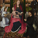 Part 3 National Gallery UK - Hans Memling - The Virgin and Child with an Angel