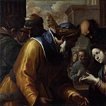 Gregorio Preti – Christ disputing with the Doctors, Part 3 National Gallery UK