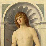 Giovanni Battista Cima da Conegliano – Saint Sebastian, Part 3 National Gallery UK