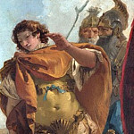 Giovanni Battista Tiepolo – Rinaldo turning in Shame from the Magic Shield, Part 3 National Gallery UK