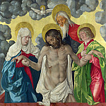 Hans Baldung Grien – The Trinity and Mystic Pieta, Part 3 National Gallery UK