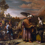 Gerbrand van den Eeckhout – Rebekah and Eliezer at the Well, Part 3 National Gallery UK