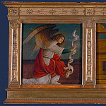 Gaudenzio Ferrari – Panels from an Altarpiece – The Annunciation, Part 3 National Gallery UK