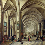The Interior of a Gothic Church looking East, Jan Havicksz Steen