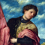 Part 3 National Gallery UK - Girolamo Romanino - Saint Alexander