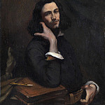 Part 3 National Gallery UK - Gustave Courbet - Self Portrait (LHomme a la Ceinture de Cuir)