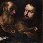 Saints Andrew and Thomas, Giovanni Lorenzo Bernini