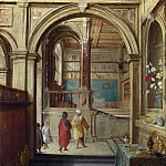 Hendrick van Steenwyck the Younger – Croesus and Solon, Part 3 National Gallery UK