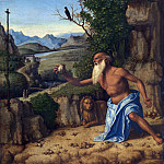 Giovanni Battista Cima da Conegliano – Saint Jerome in a Landscape, Part 3 National Gallery UK