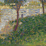 Part 3 National Gallery UK - Georges Seurat - Study for La Grande Jatte
