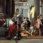 Giovanni Domenico Tiepolo – The Marriage of Frederick Barbarossa, Part 3 National Gallery UK