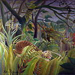 Part 3 National Gallery UK - Henri Rousseau - Surprised!