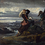 Imitator of Thomas Couture – Caught by the Tide, Part 3 National Gallery UK
