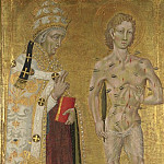 Part 3 National Gallery UK - Giovanni di Paolo - Saints Fabian and Sebastian