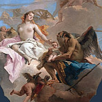 An Allegory with Venus and Time, Giovanni Domenico Tiepolo