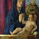Part 3 National Gallery UK - Giovanni Bellini - The Virgin and Child