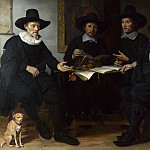 Gerbrand van den Eeckhout – Group Portrait, Part 3 National Gallery UK