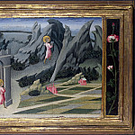 Giovanni di Paolo – Saint John the Baptist retiring to the Desert, Part 3 National Gallery UK
