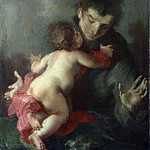 Giuseppe Bazzani – Saint Anthony of Padua with the Infant Christ, Part 3 National Gallery UK
