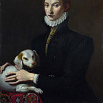 Italian – Portrait of a Lady with a Dog, Part 3 National Gallery UK