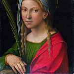 Garofalo – Saint Catherine of Alexandria, Part 3 National Gallery UK