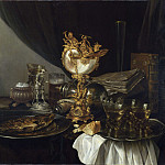 Gerrit Willemsz. Heda – Still Life with a Nautilus Cup, Part 3 National Gallery UK