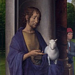 Hans Memling – Saint John the Baptist, Part 3 National Gallery UK