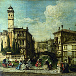 Part 3 National Gallery UK - Imitator of Francesco Guardi - Venice - Entrance to the Cannaregio