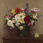 Ignace Henri-Theodore Fantin-Latour – The Rosy Wealth of June, Part 3 National Gallery UK