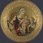 Italian, Florentine – The Virgin and Child with Saints, Part 3 National Gallery UK