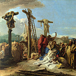 The Lamentation at the Foot of the Cross, Giovanni Domenico Tiepolo