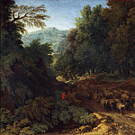 Gaspard Dughet – Landscape with a Shepherd and his Flock, Part 3 National Gallery UK