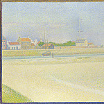 Part 3 National Gallery UK - Georges Seurat - The Channel of Gravelines, Grand Fort-Philippe