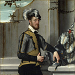 Giovanni Battista Moroni – A Knight with his Jousting Helmet, Part 3 National Gallery UK