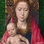 Part 3 National Gallery UK - Hans Memling - Virgin and Child