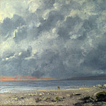 Gustave Courbet – Beach Scene, Part 3 National Gallery UK