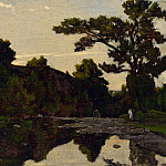Henri-Joseph Harpignies – A River Scene, Part 3 National Gallery UK