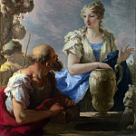 Part 3 National Gallery UK - Giovanni Antonio Pellegrini - Rebecca at the Well