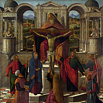 Giovanni Mansueti – Symbolic Representation of the Crucifixion, Part 3 National Gallery UK