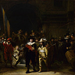 Part 3 National Gallery UK - Gerrit Lundens (after Rembrandt) - The Company of Captain Banning Cocq (The Nightwatch)