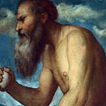 Part 3 National Gallery UK - Girolamo Romanino - Saint Jerome