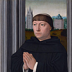 Part 3 National Gallery UK - Gerard David - An Augustinian Friar Praying