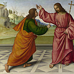 Part 3 National Gallery UK - Giovanni Battista da Faenza - The Incredulity of Saint Thomas