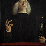 Gentile Bellini – A Man with a Pair of Dividers, Part 3 National Gallery UK