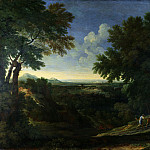 Gaspard Dughet – Landscape with Abraham and Isaac, Part 3 National Gallery UK