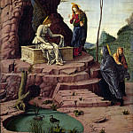The Maries at the Sepulchre, Andrea Mantegna