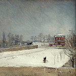Giuseppe De Nittis – Winter Landscape, Part 3 National Gallery UK