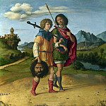 Part 3 National Gallery UK - Giovanni Battista Cima da Conegliano - David and Jonathan
