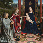 Part 3 National Gallery UK - Gerard David - The Virgin and Child with Saints and Donor