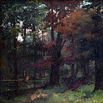 In the Forest, Gustave Courbet